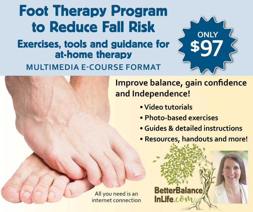 Dr. Bell's Foot Therapy for Fall Prevention Program | Dr. Kimberley Bell, DPT, San Diego Vertigo Specialist