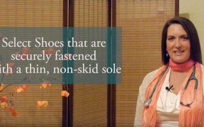 Footwear to Reduce Falling