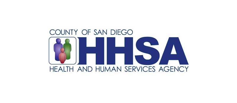 County of San Diego health and human services agency logo